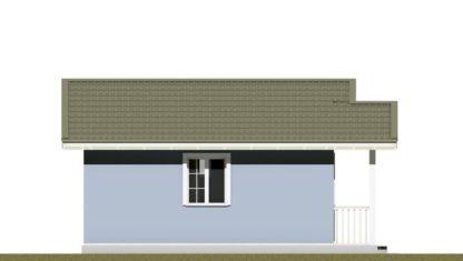 Проект бани № 765 — 34 м2 (6 х 7)