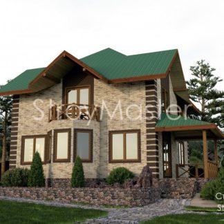 Проект дома № 628 — 168 м2 (14 х 12)