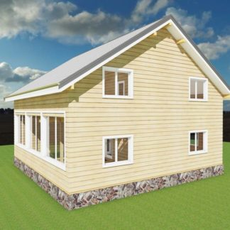 Проект дома № 36 — 187 м2 (10 х 10)