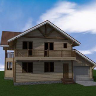 Проект дома № 985 — 190 м2 (13 х 10)