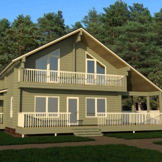 Комфортный дом №803 — 194 м2 (8,2 х 10,2)