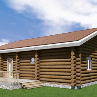 Проект дома № 679 — 195 м2 (12 х 8,6)
