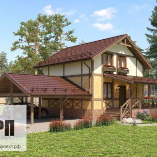 Проект загородного дома №6 - 225,4 м2 (10,2х11,5)