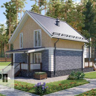 Проект загородного дома - 98,4 м2 (7,51х7,86)