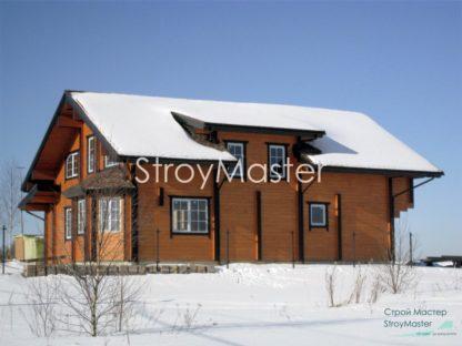 Проект дома № 40 — 260 м2 (12,6 х 15,3)