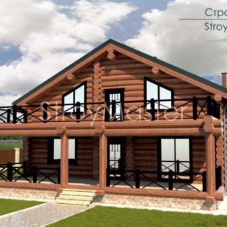 Проект дома № 137 — 280 м2 (11,8 х 14,6)