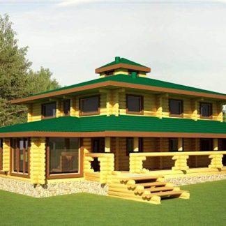Проект дома № 785 — 362 м2 (14 х 18)