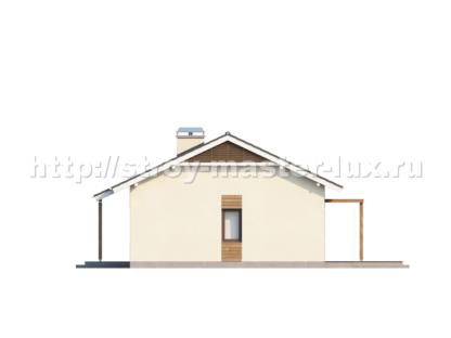 Проект дома Z-136 — 80 м2 (12,54 х 8,64)