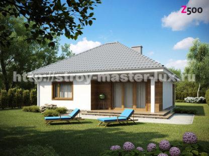 Проект дома Z-64 — 84 м2 (10,7 х 11)