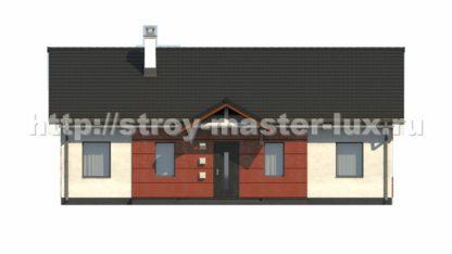 Проект дома Z-241 — 93 м2 (13,7 х 8,4)