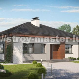 Проект дома Z-273 — 94 м2 (12,14 х 10,5)