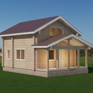 Проект дома с крыльцом № 779 — 84 м2 (6 х 9)