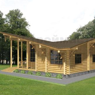 Проект дома АД-041 — 130 м2 (12,2 х 10,7)