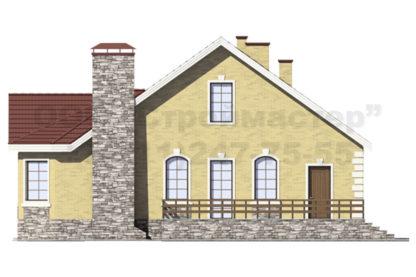 Проект дома С-1 - 157м2 (13,14 х 14,14)