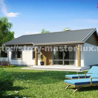 Проект дома Z-7 — 171 м2 (12,18 х 8,28)
