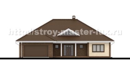 Проект дома Z-26 — 212 м2 (18,48 х 16,38)