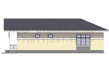 Проект дома С-10 — 257 м2 (24 х 15,5)