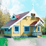 Проект дома №М-3110 — 61 м2 (8 х 6)