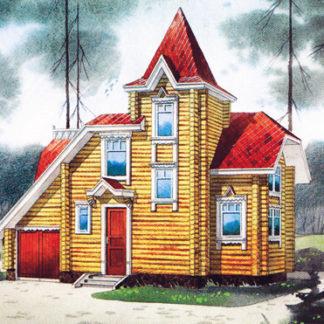 Проект дома №М3112 — 78 м2 (10,5 х 8,5)