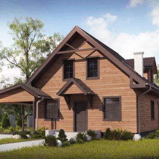 Проект дома № 106 — 111 м2 (11,1 х 8,4)