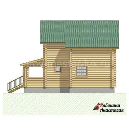 Проект дома №2 - 111м2 (9,1 х 10,1)