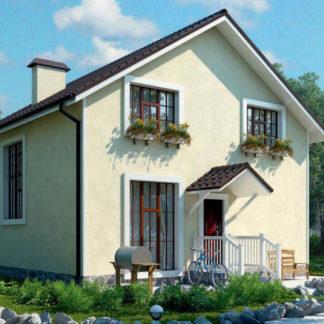 Проект дома № 492 — 125 м2 (9 х 9)