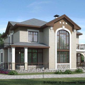 Проект дома № 1548 — 225 м2 (14 х 14)