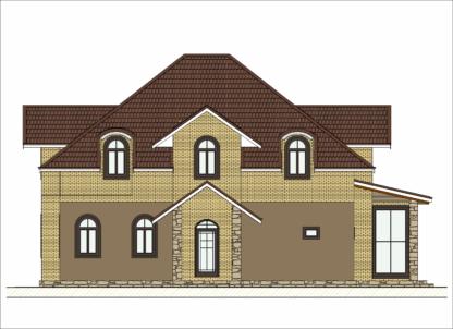 Проект дома № 1978 — 251 м2 (12 х 14)