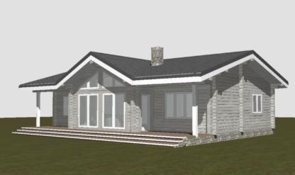 Проект дома № 2236 — 123 м2 (10 х 13)