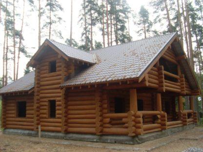 Проект дома № 681 — 252 м2 (12,7 х 12,17)