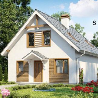 Проект дома ГБН-11 – 127 м2 (10,2х8,2)