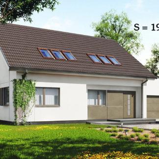 Проект дома ГБН- 31 – 197 м2 (15,2х10,6)