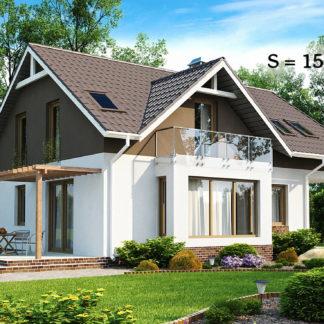 Проект дома ГБН-05 - 157,2 м2 (11,3х9,8)