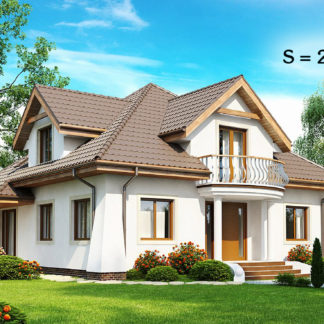 Проект дома ГБН-06 - 253,2 м2 (16,1х11,9)