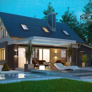 Проект дома ГБН- 21 – 116 м2 (13,7х7,1)