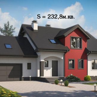 Проект дома ГБН- 22 – 233 м2 (16,9х10,3)
