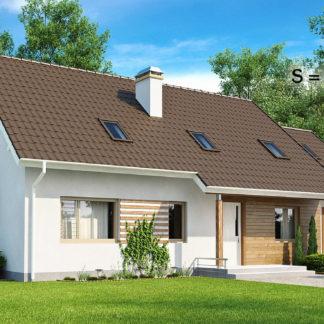Проект дома ГБН- 23 – 217,5 м2 (17,7х9,2)