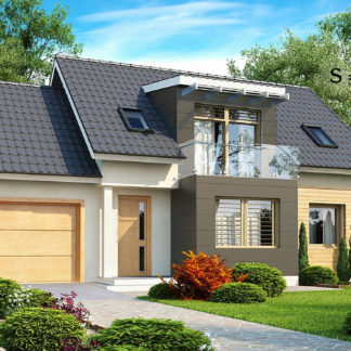 Проект дома ГБН- 28 – 161,8 м2 (13,4х9,5)