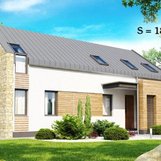 Проект дома ГБН- 29 – 186,6 м2 (13,7х10,5)