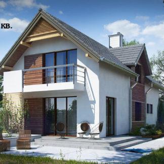 Проект дома ГБН- 30 – 153,9 м2 (16,4х6,7)