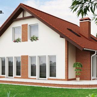 Проект дома ГБН- 37 – 170,4 м2 (10,8х10,9)