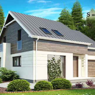 Проект дома ГБН- 39 – 180,9 м2 (10,5х12,1)