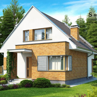 Проект дома ГБН- 40 – 110,9 м2 (9,5х8,4)