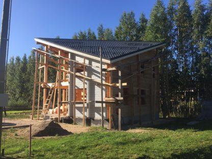 Проект дома с мансардой № 1392 — 147 м2 (8.8 х 8.8)