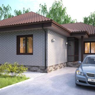 Проект компактного дома №П-10 — 115,1 М2 (17,58 х 13,8)