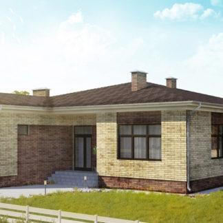 Проект одноэтажного дома №П-15 — 217,3 М2 (18,6 х 21,76)