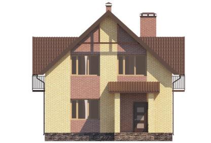 Проект компактного дома №П-03 — 131,27 М2 (9,04 х 9,74)