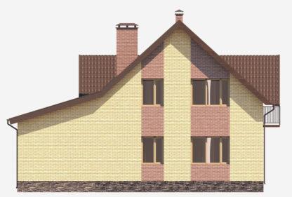 Проект компактного дома №П-04 — 163,29 М2 (9,74 х 13,24)