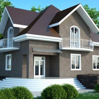 Проект большого дома №П-05 — 303 М2 (13,54 х 16,10)