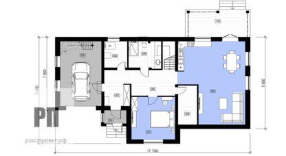 Проект загородного дома №РосП-4 — 288 М2 (18х11)